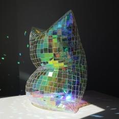 """Colin Roberts Glass Pillow Collasal 6 Plexiglass 20 x 20 x 13"""" http://www.colinrobertsart.com/"""