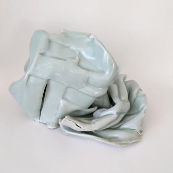 Carolie Parker Fainting Couch 2020 11 x 8 x 7 inches porcelain, celadon http://carolieparker.com/