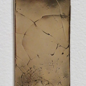 "Chris Collins Phone Bronze 5.5"" x 2.75"" x 0.25"" 2019 http://www.chriscollinssculpture.com/"