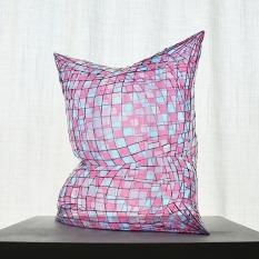 "Colin Roberts Pink Blue 3 Plexiglass 21 x 20 x 14"" 2019 http://www.colinrobertsart.com/"
